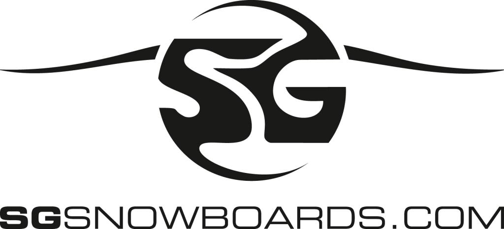 Logo SG Snowboards, Link sgsnowboards.com